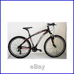 Vélo VTT 27.5 sleek alu homme 21v freins v-brake noir rouge t39 Jumpertrek Neuf