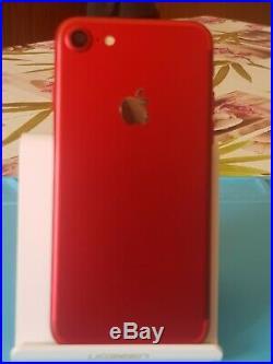 Vends Super Iphone 7 128Go Rouge/Noir Reconditionné à Neuf par le vendeur