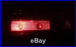 Verre Transparent Feux Arrières Ensemble BMW E30 3 Touring Noir Rouge Smoke Neuf