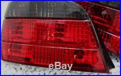 Verre transparent Feux Arrières Ensemble BMW E38 7er 94-01 noir rouge fumé NEUF