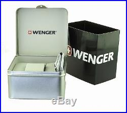 Wenger Montre Hommes Commando Chrono Swiss Made 01.1243.103 Neuf Emballage