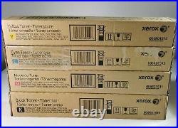 XEROX TONER 006R01509 006R01510 006R01511 006R01512 Bleu rouge jaune noir NEUF